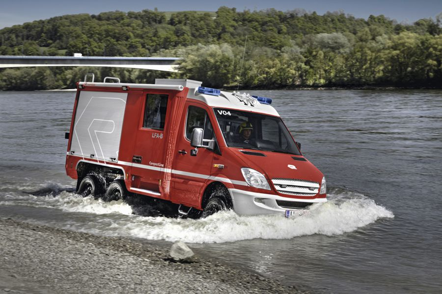 Xe chữa cháy thu gọn3