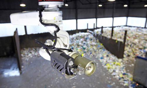 Các nhà máy sắp xếp chất thải